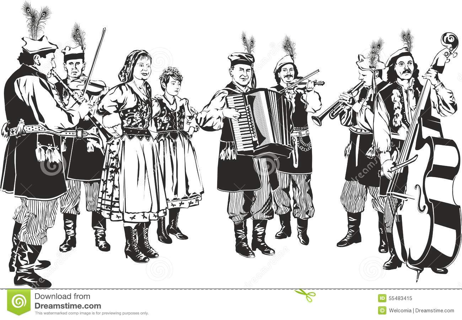波兰传统民间带