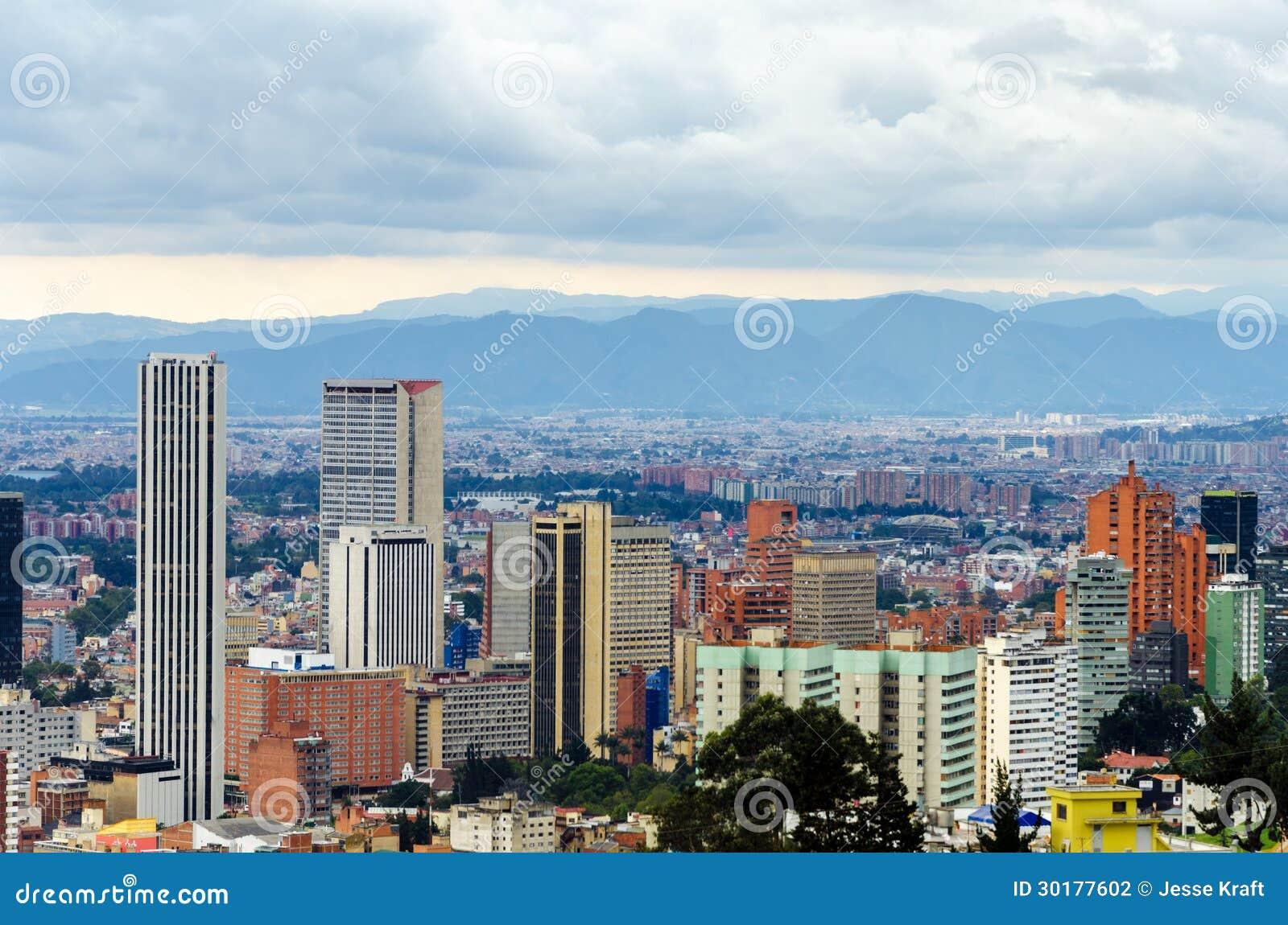 波哥大,哥伦比亚地平线