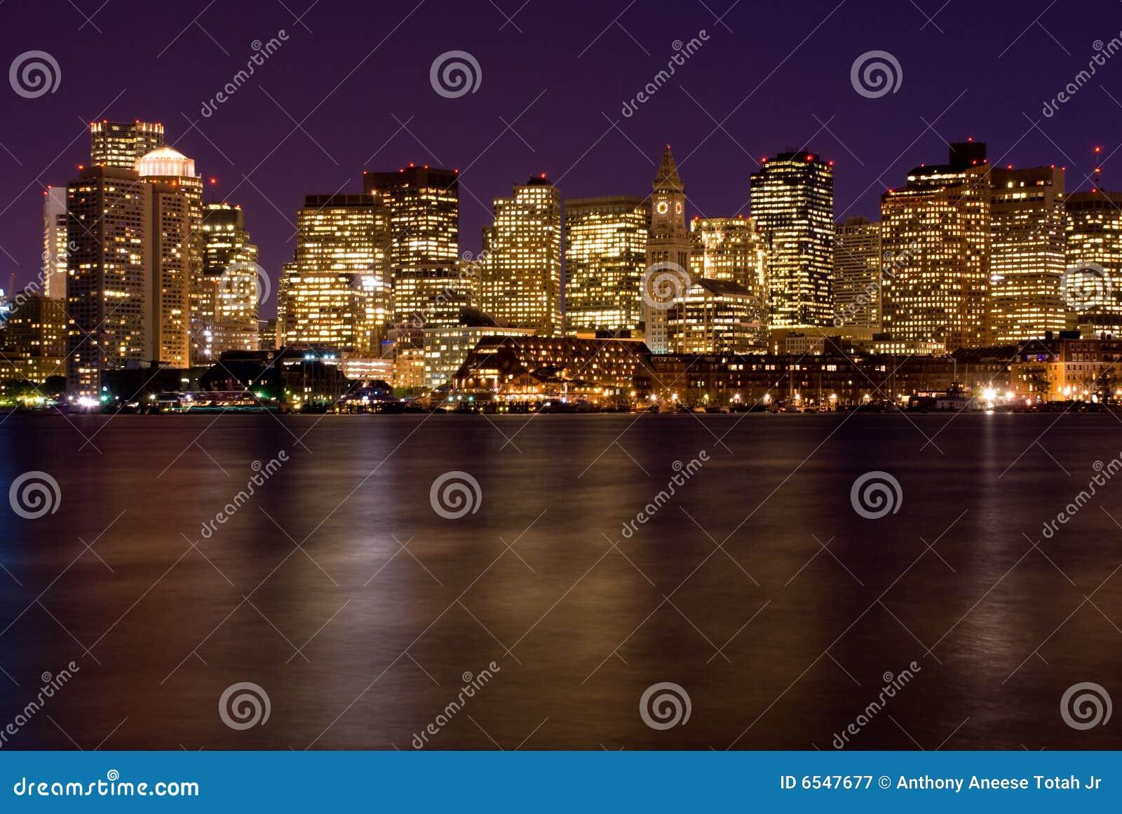 波士顿晚上