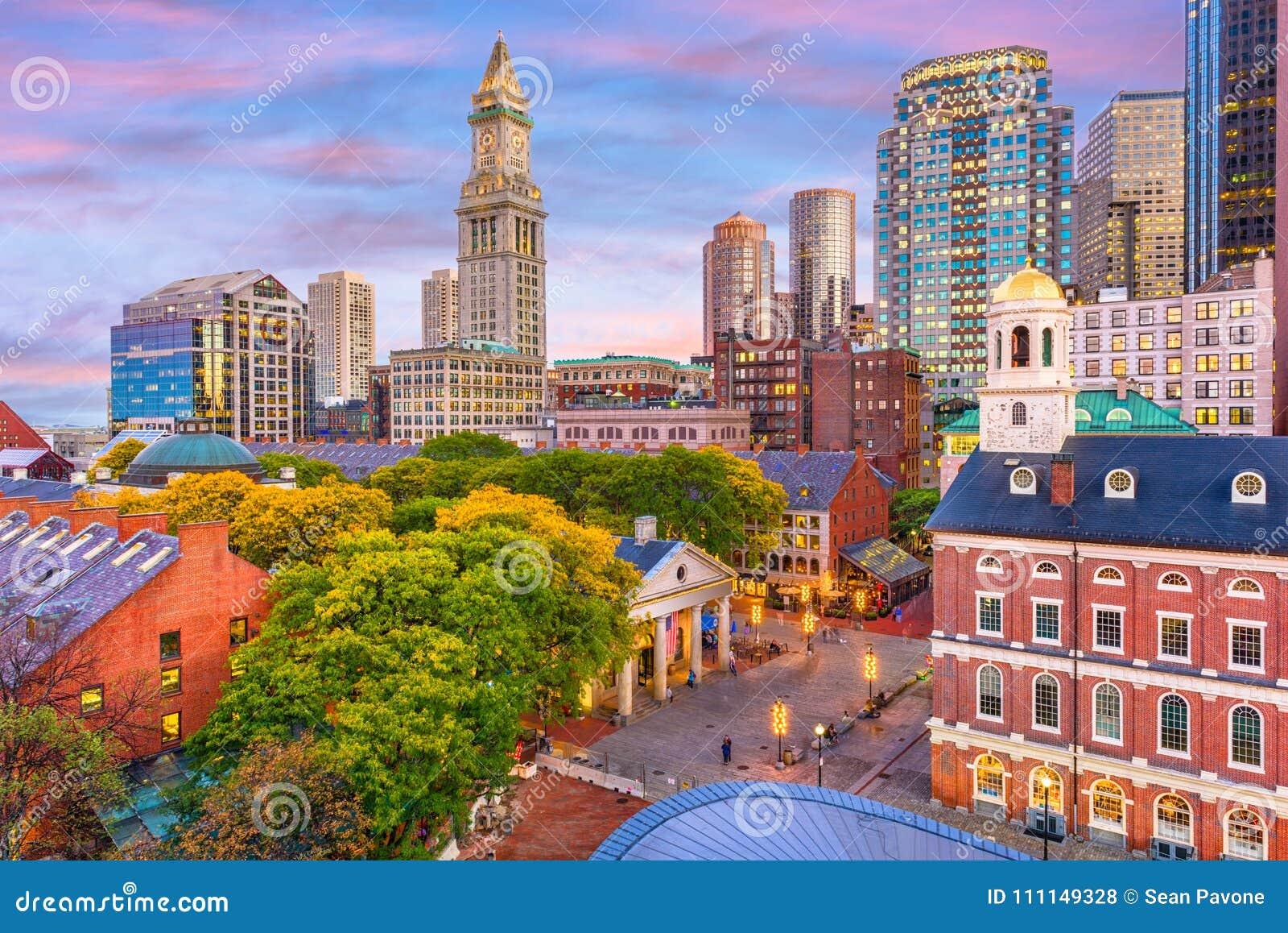 波士顿,马萨诸塞,美国地平线