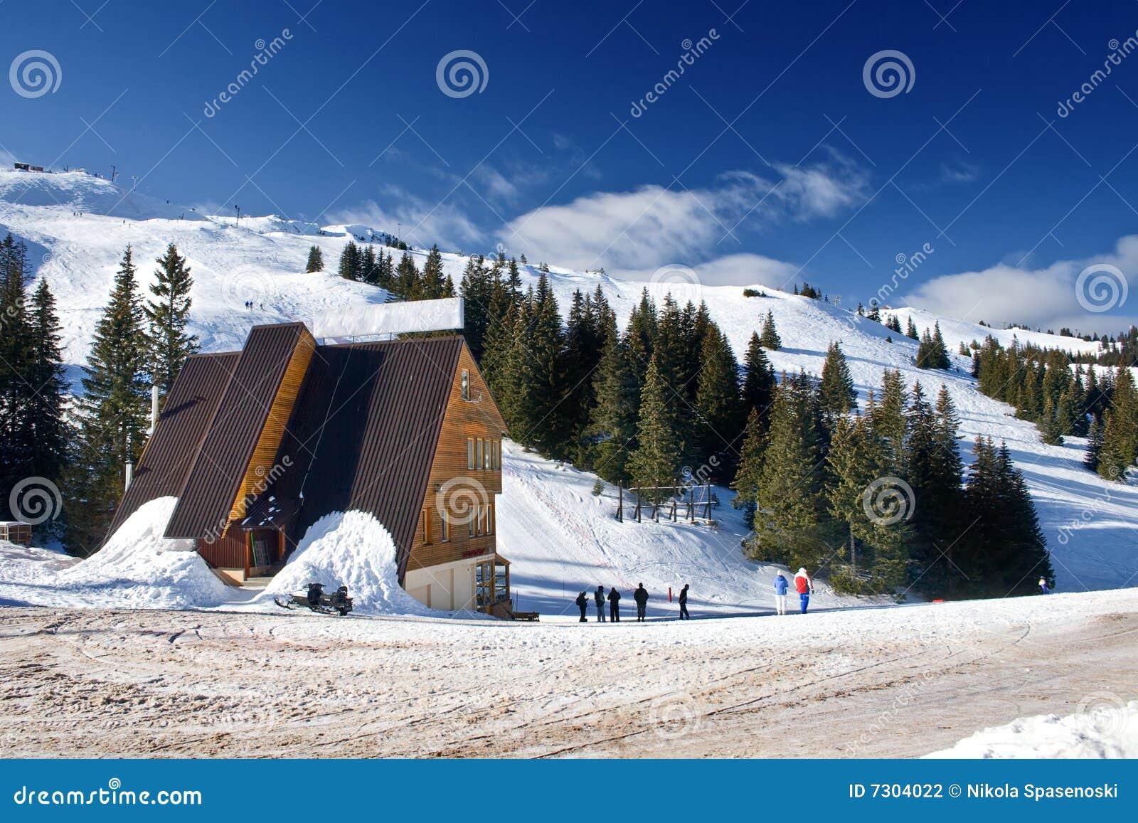 波斯尼亚中心hercegovina jahorina滑雪
