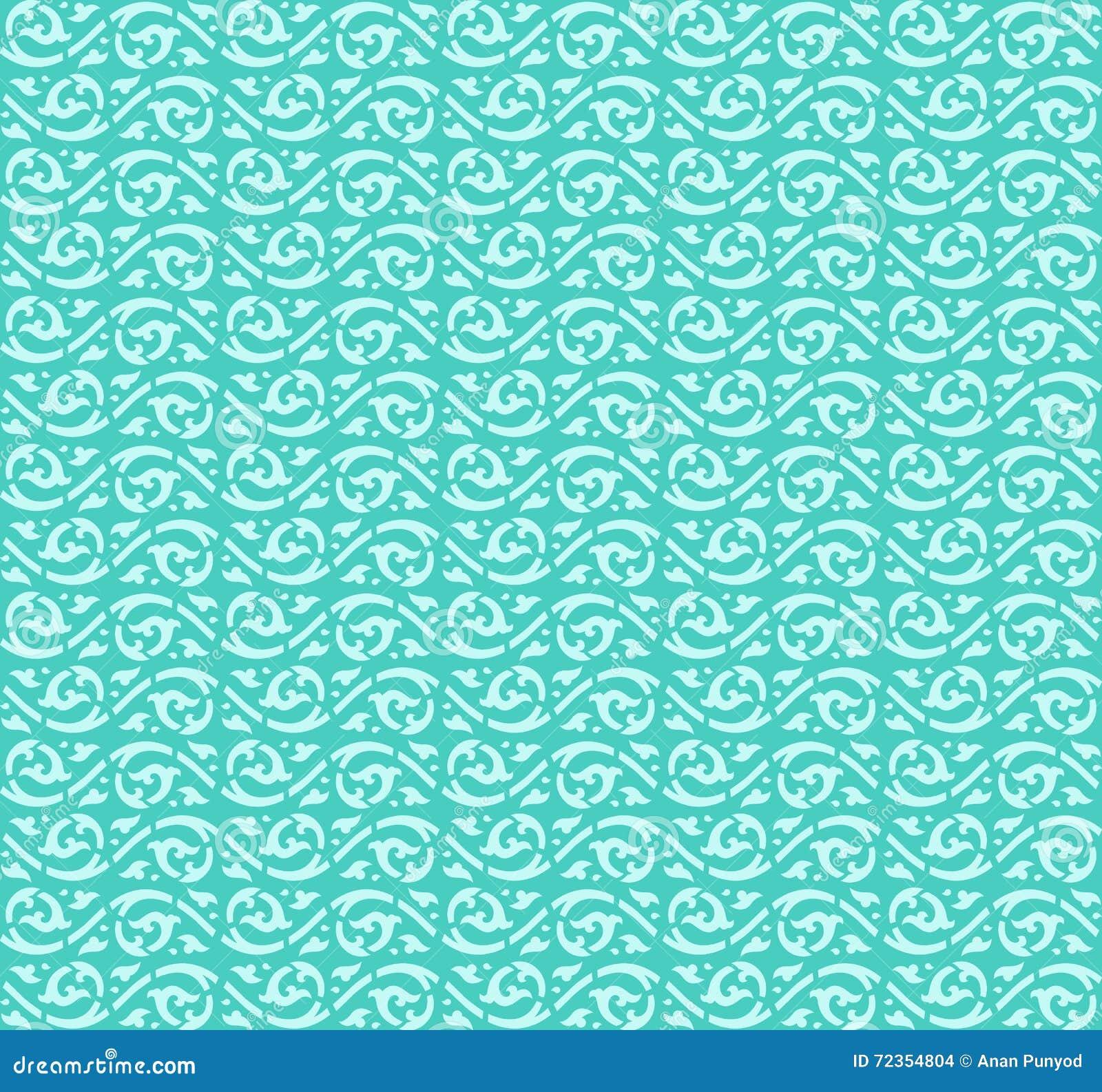 水波样式背景传染媒介设计(泰国的赖)