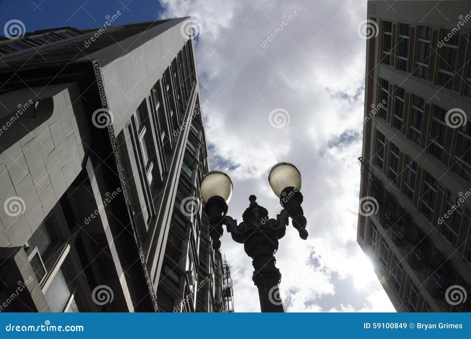 波特兰路灯柱