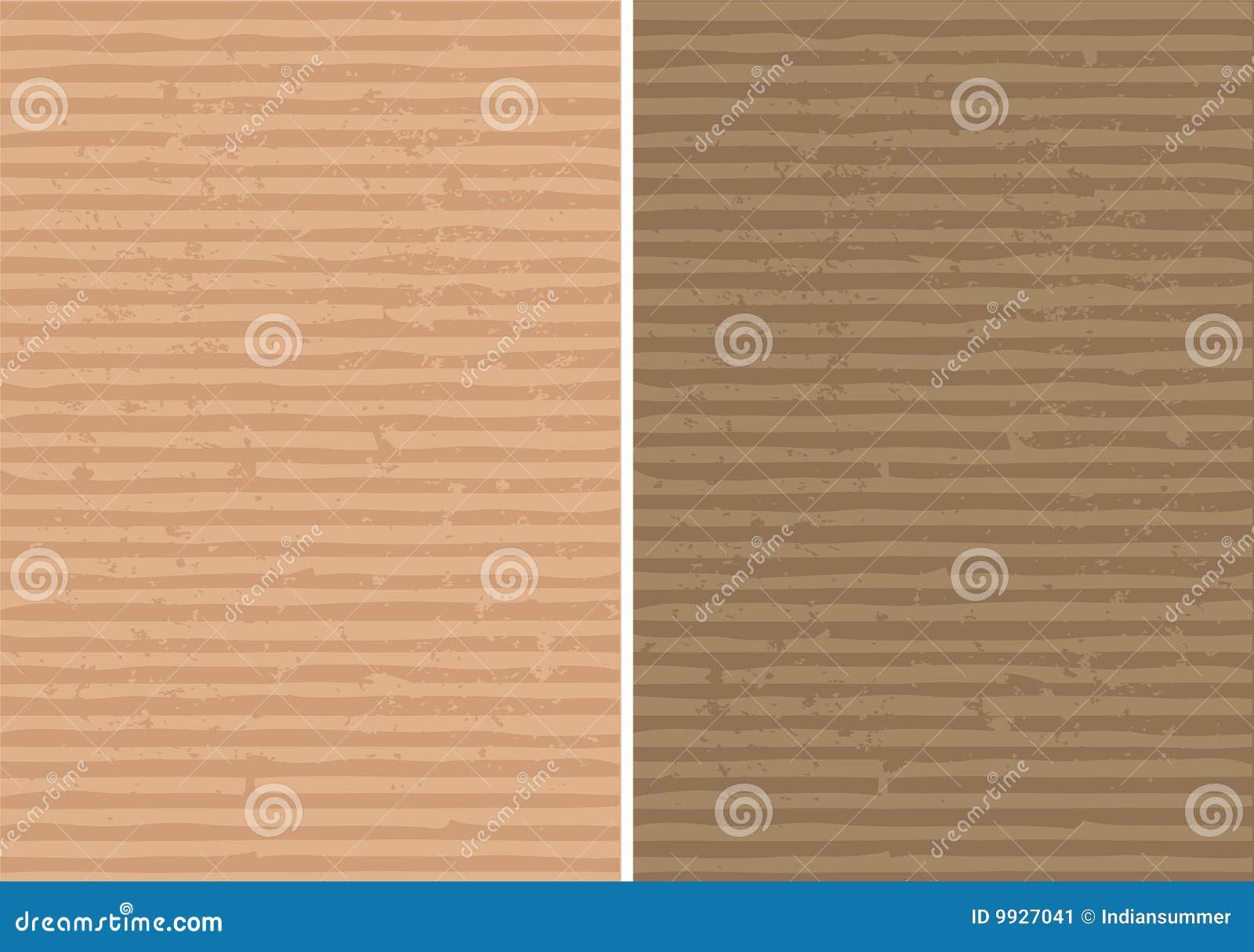 波纹状的被排行的概略的纹理