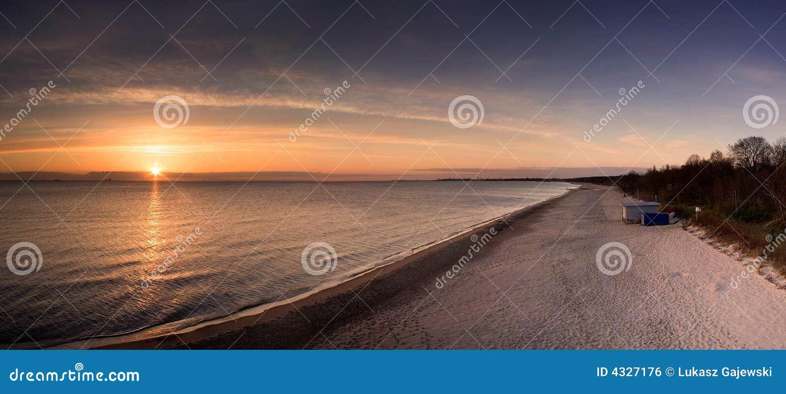 波罗的海日出