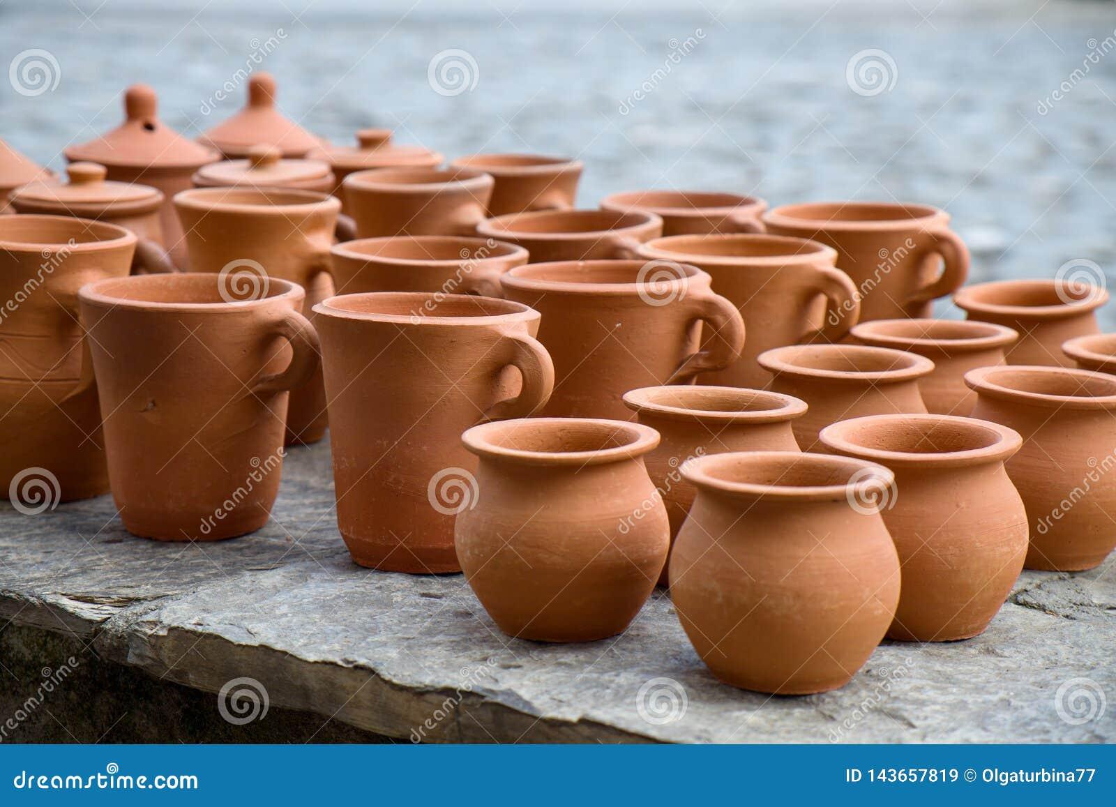 泥罐的手工制造收藏在Sheki