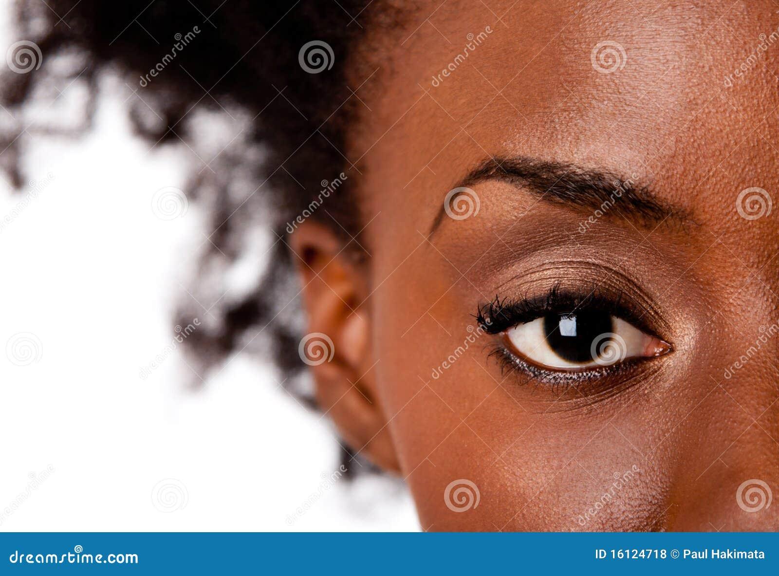 注意非洲的眼睛