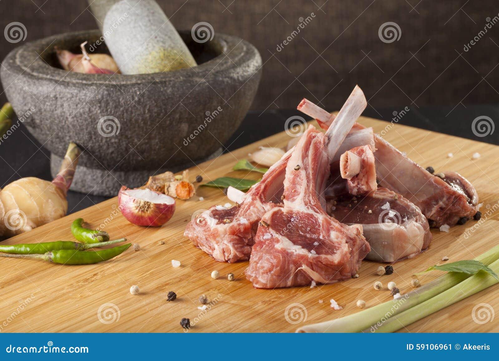 泰国样式羊排