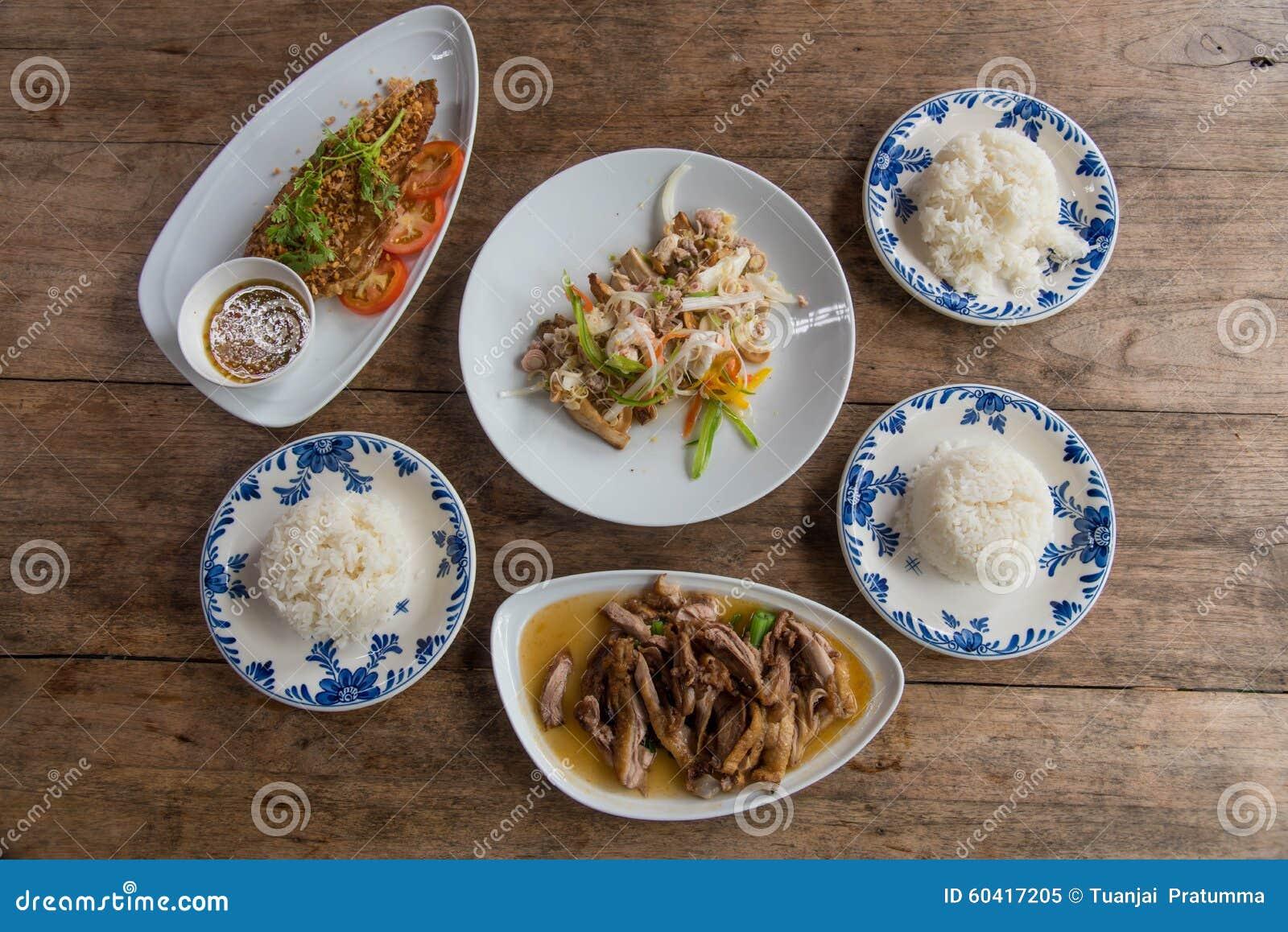 泰国食物主菜