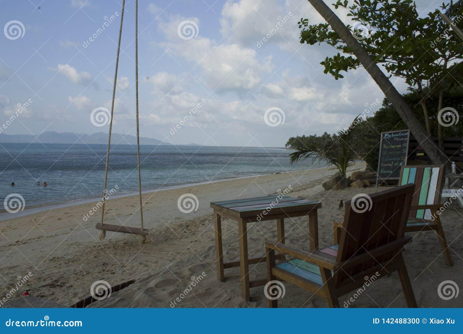 泰国,酸值苏梅岛海滩