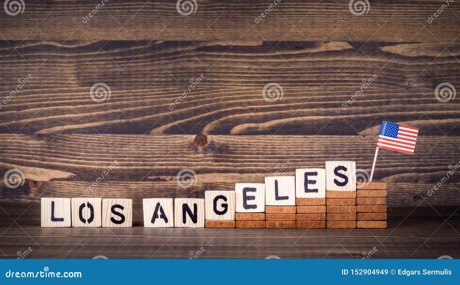 洛杉矶,美国 政治,经济和移民概念