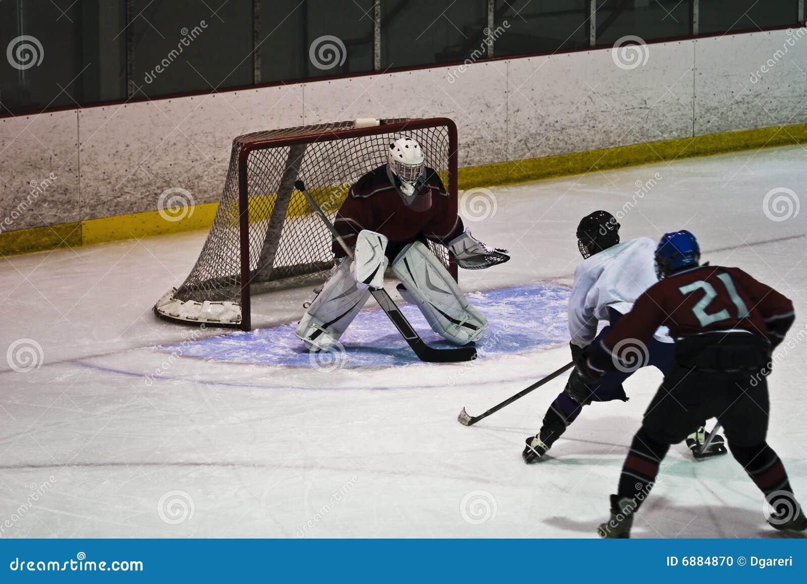 活动曲棍球冰