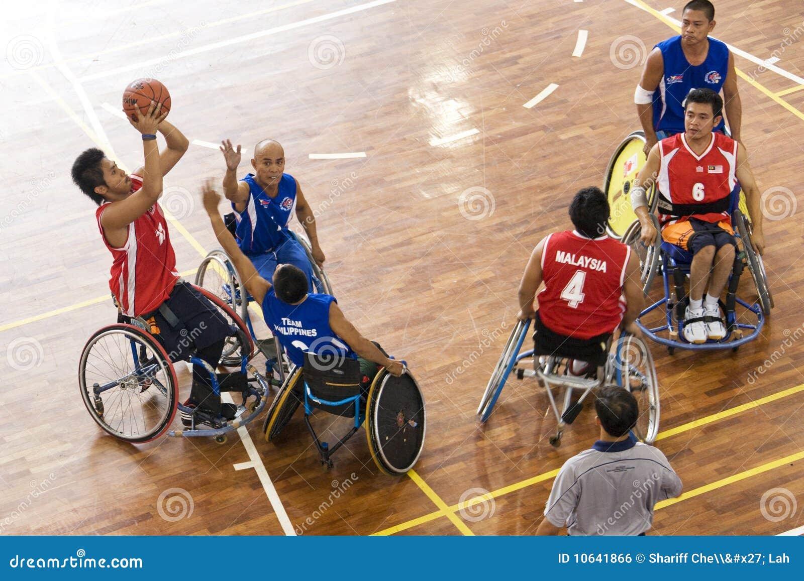 活动篮球人s轮椅