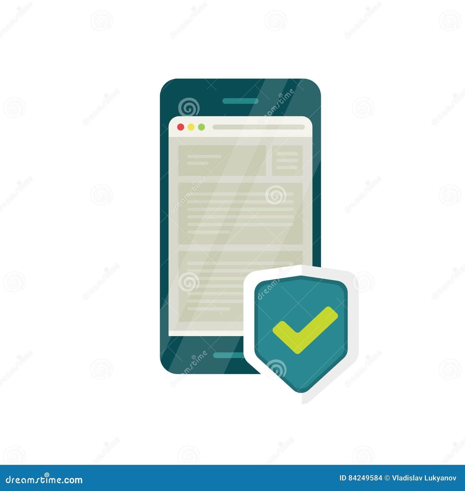 流动互联网安全象,智能手机浏览器盾,防火墙数据保护