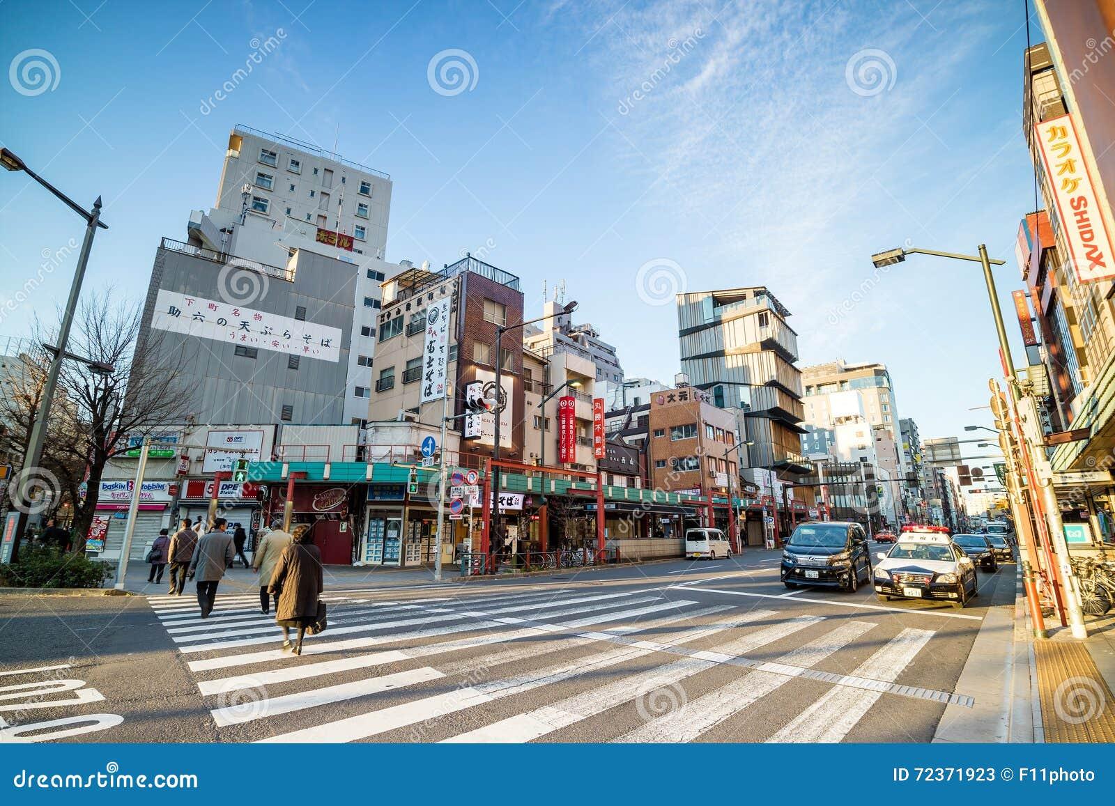 浅草区看法在东京,日本