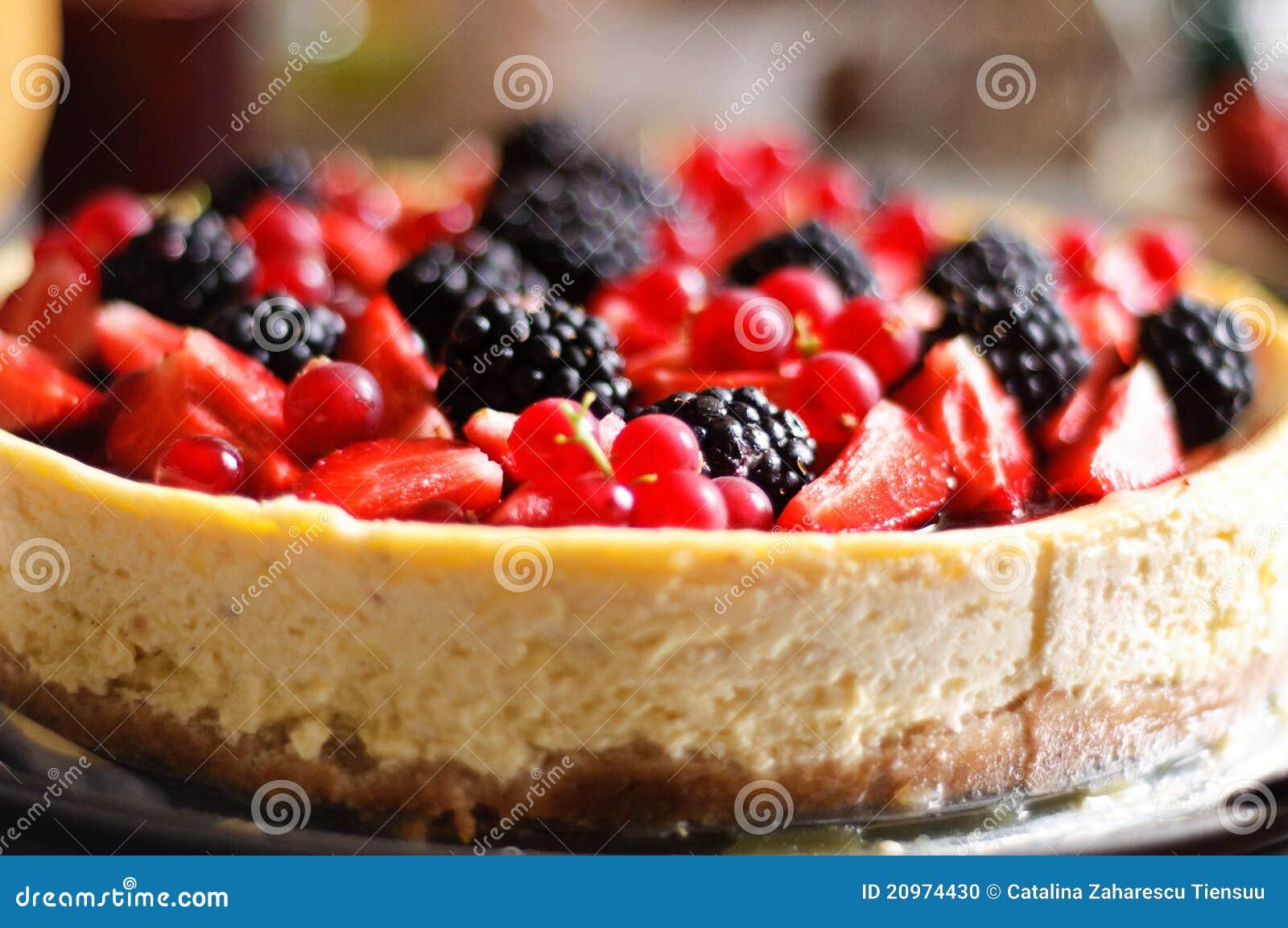 浆果蛋糕干酪