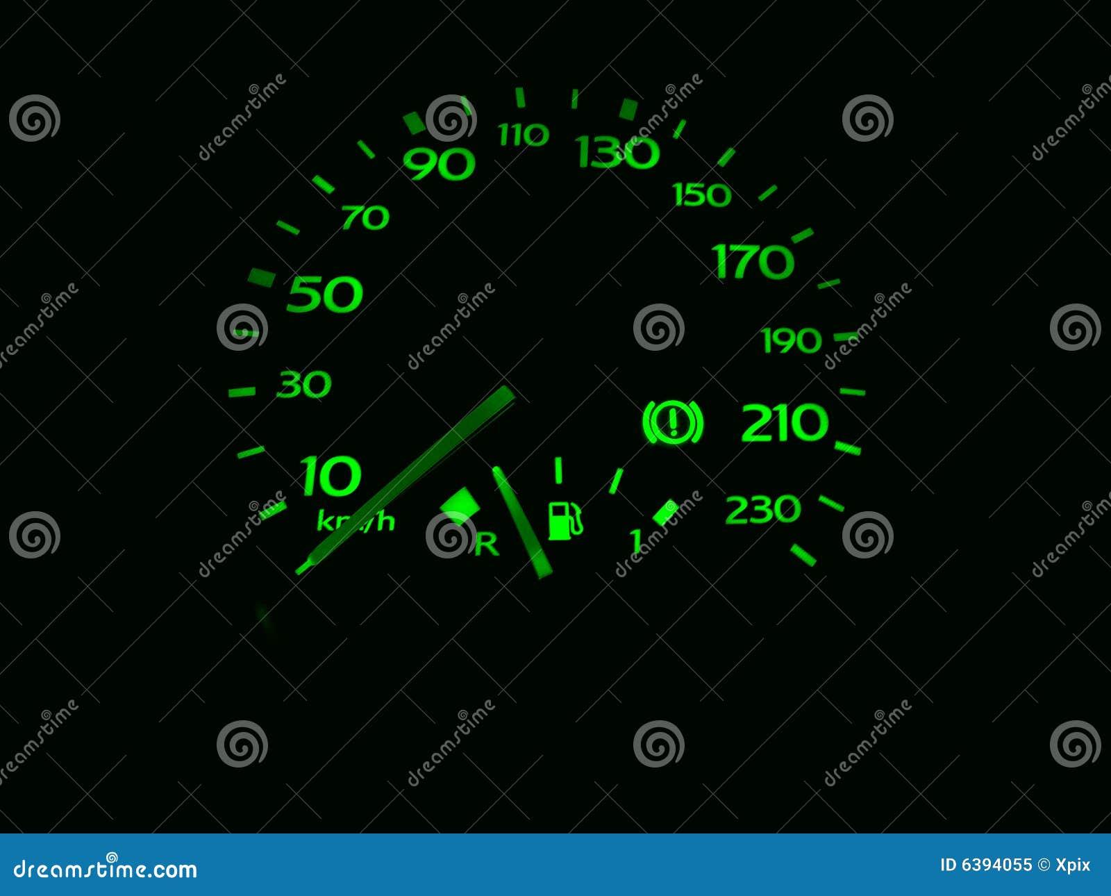 测路器车速表