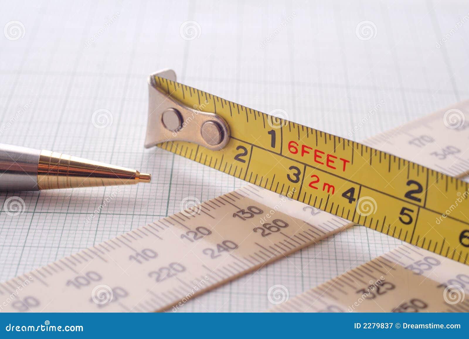 测量_测量milimeter纸铅笔速写的仪器.