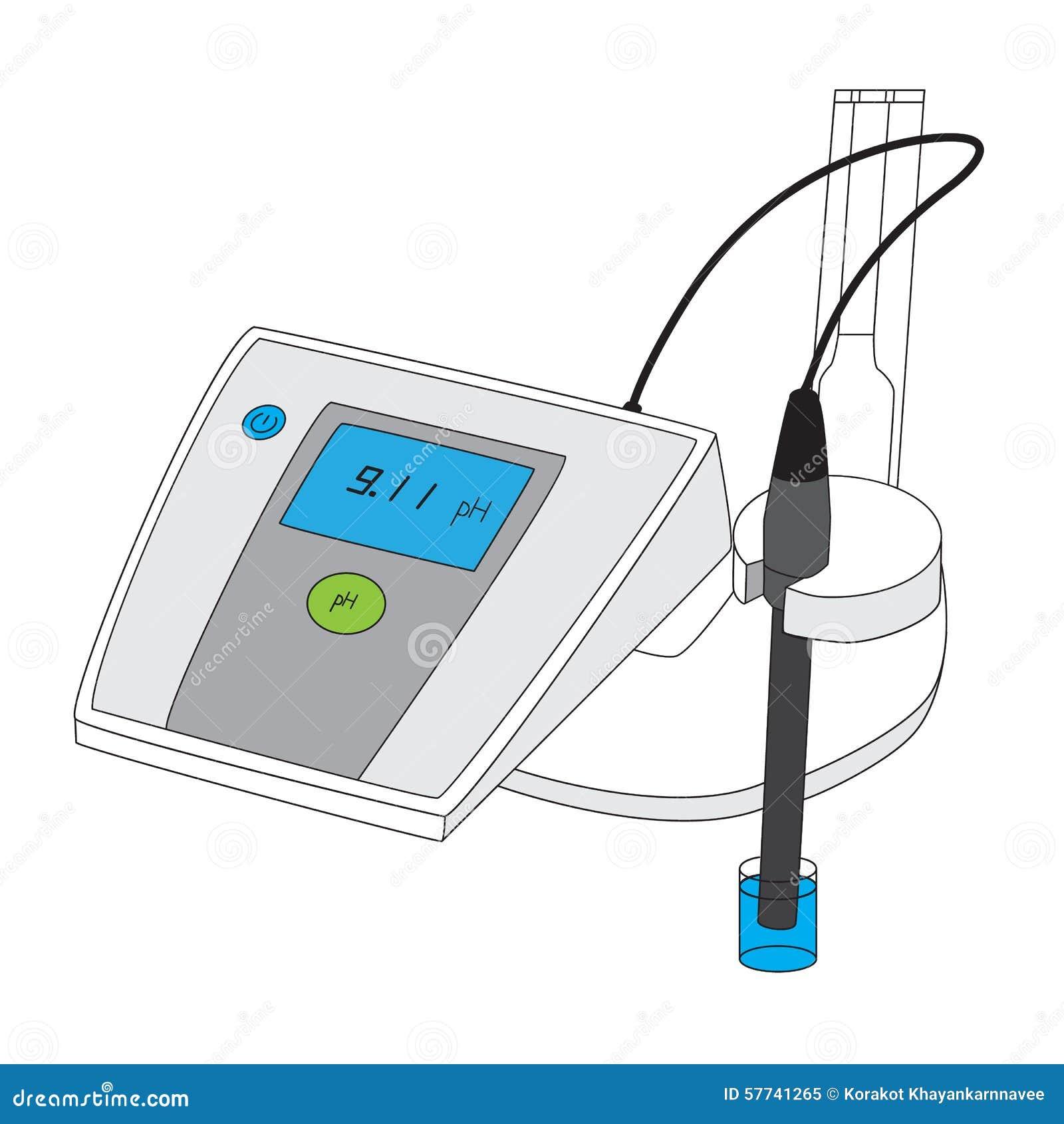 测量酸度强碱性的PH计