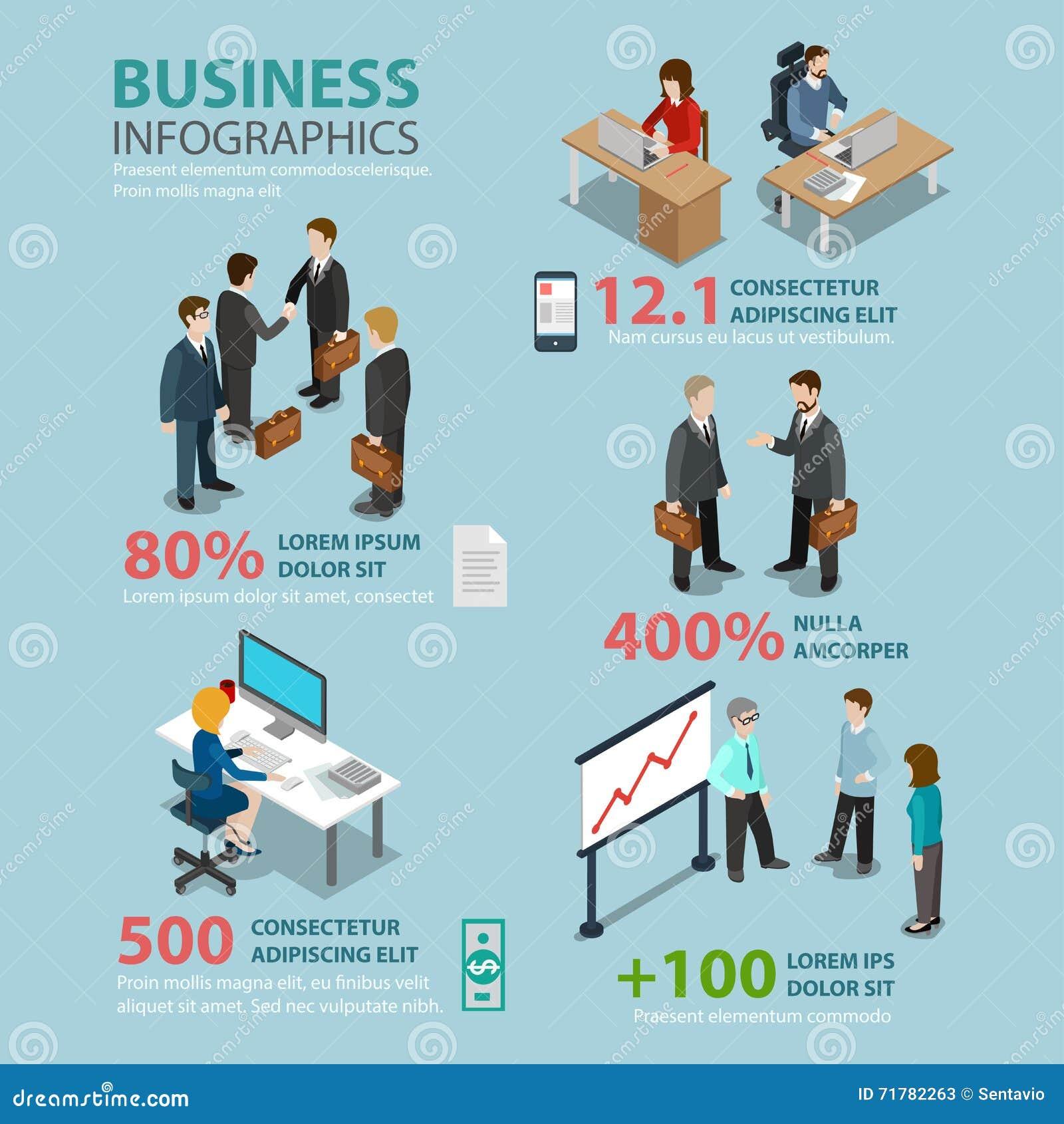 经济情况平的infographics :会议招待会