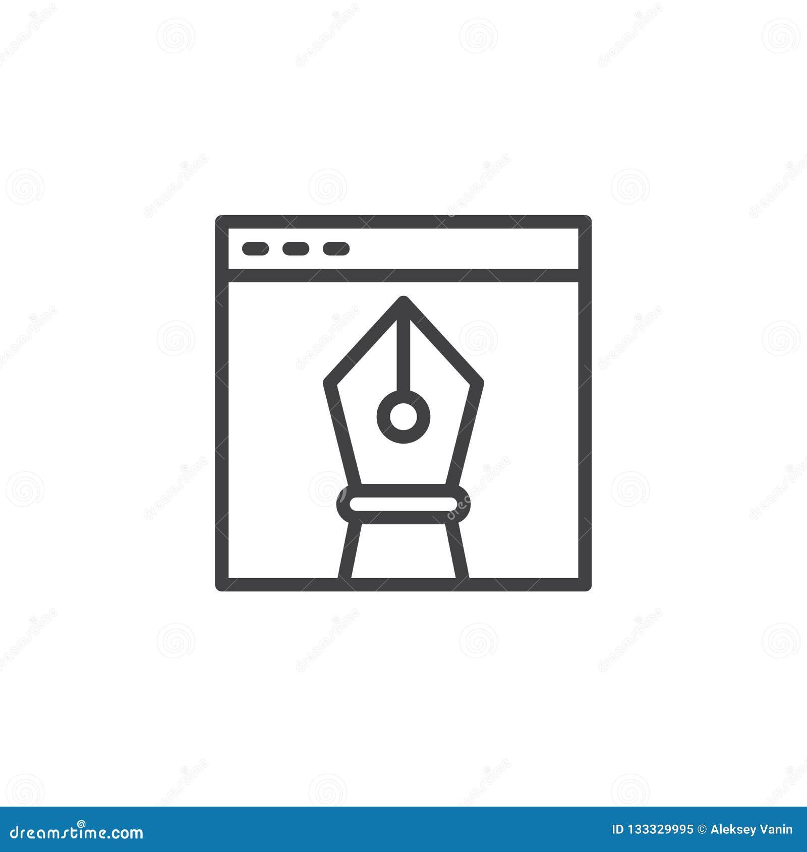 浏览器视窗和传染媒介设计图工具概述象