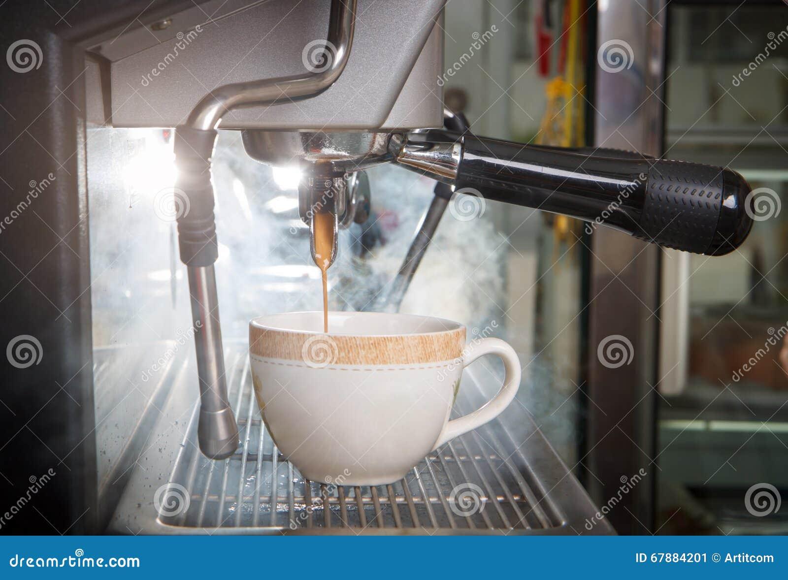 浓咖啡咖啡机器