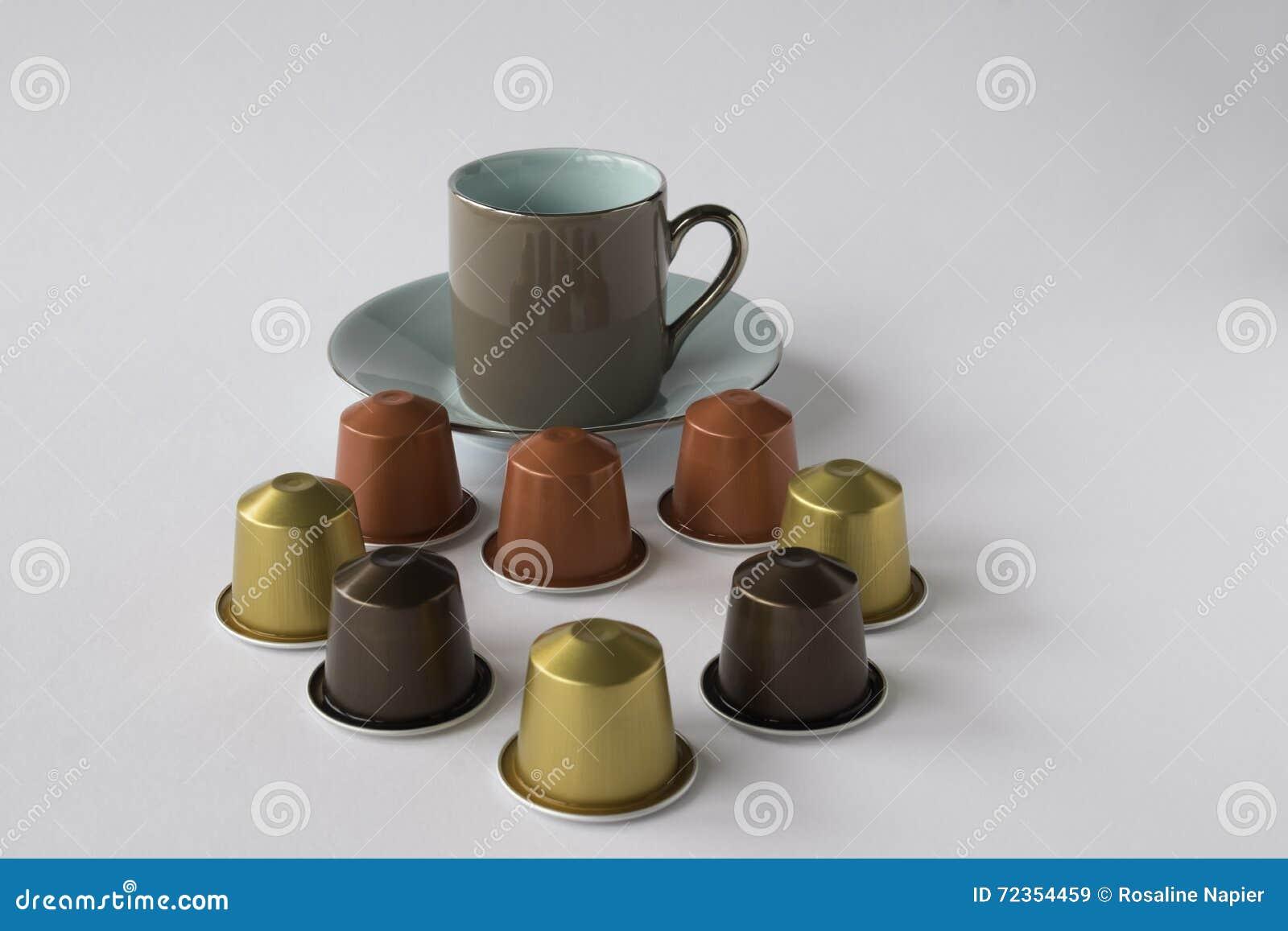 浓咖啡茶杯用咖啡荚
