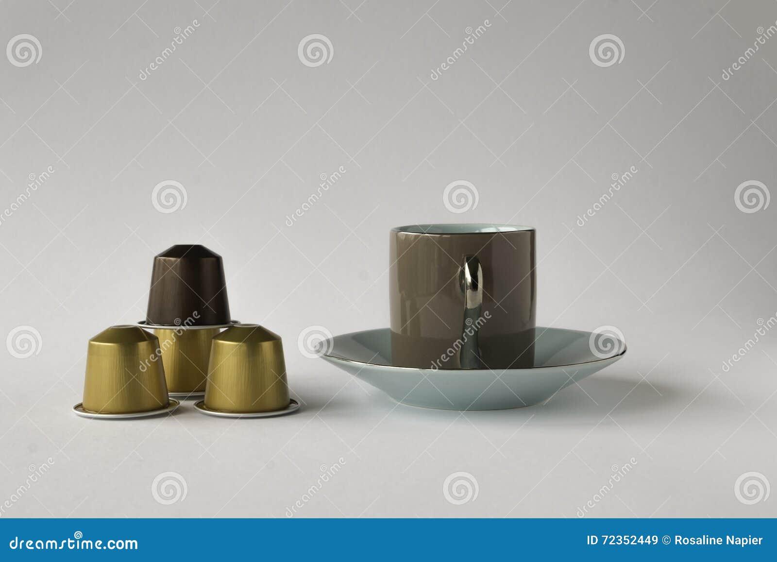 浓咖啡茶杯用四咖啡荚