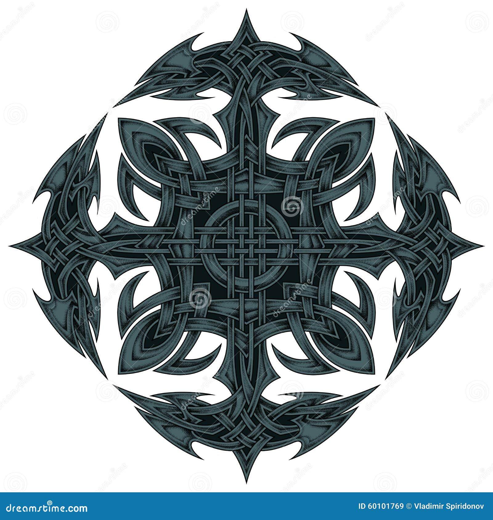 以海锚的形式相称样式在十字架收集了.