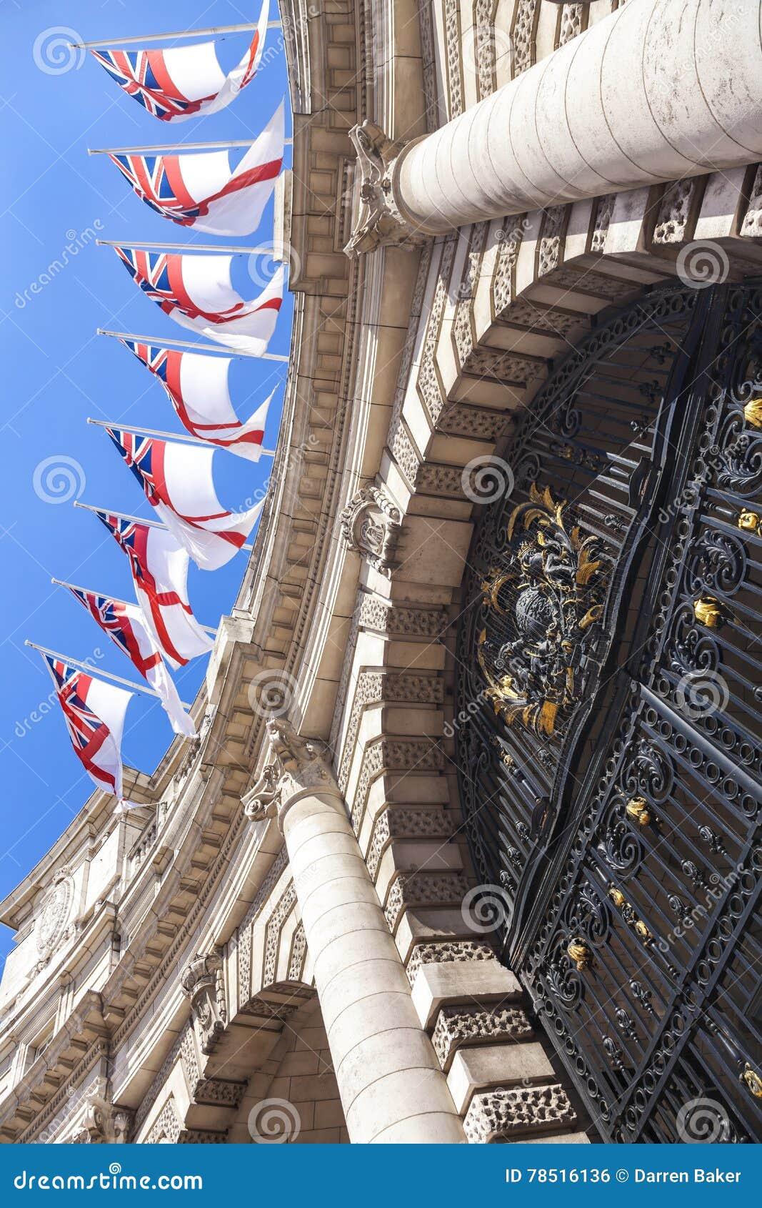 海军部曲拱英国伦敦