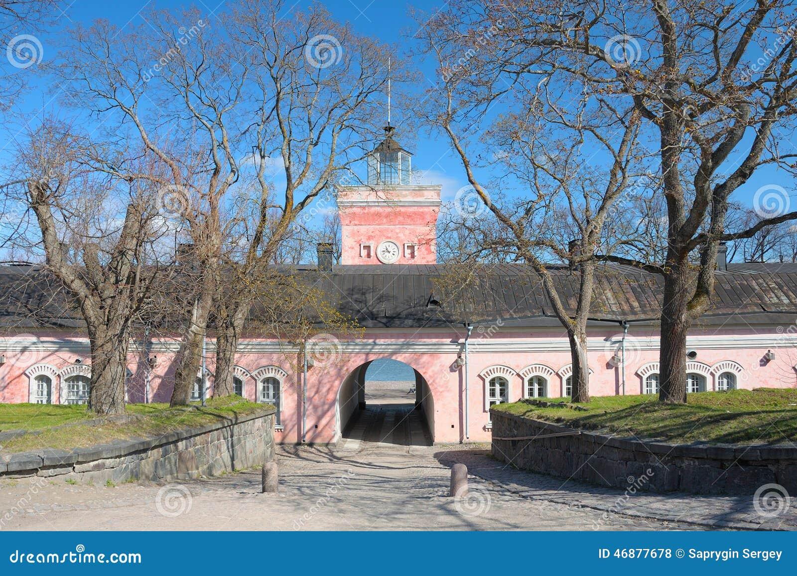 海堡垒芬兰堡门