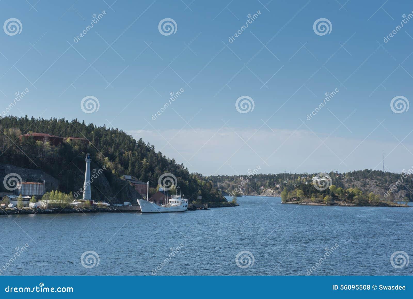 海岛在波罗的海