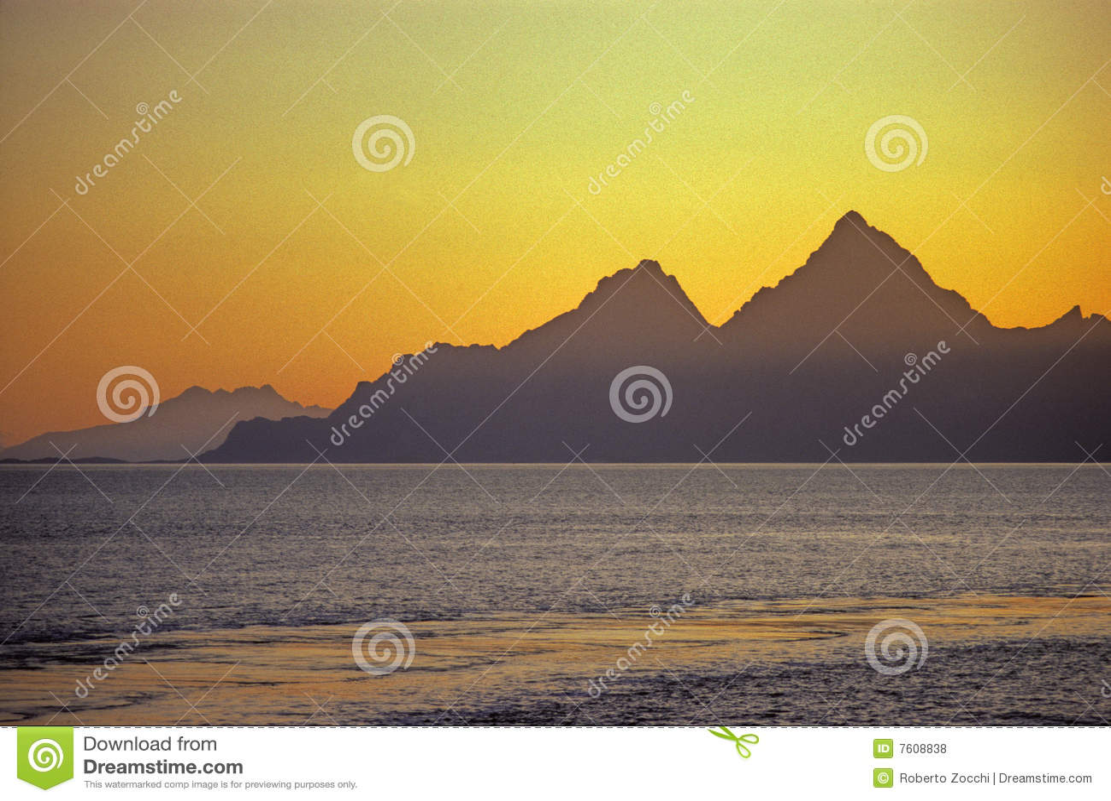 海岛lofoten挪威