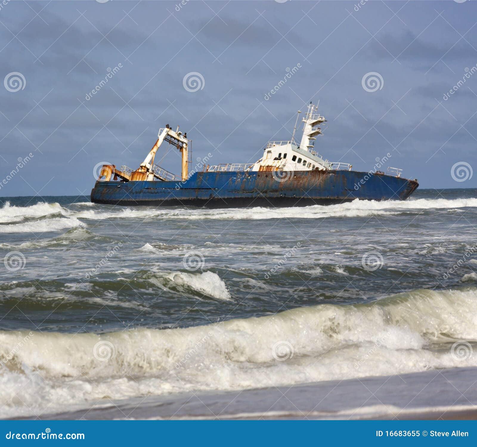 海岸纳米比亚海难概要
