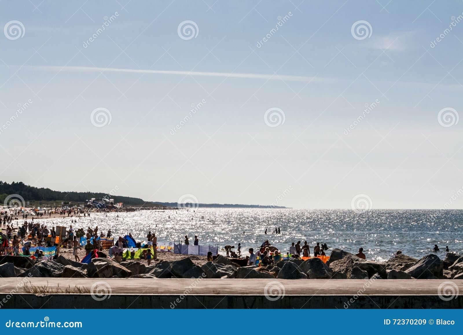 海岸,波罗的海Å  eba