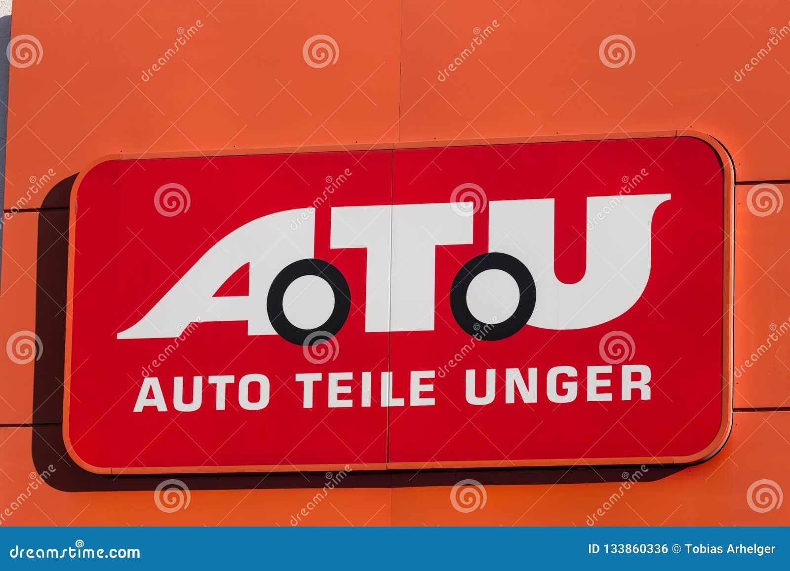 海格尔,黑森/德国- 17 11 18:在一个大厦的atu标志在haiger德国