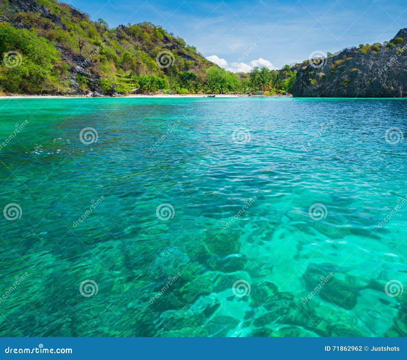 海沙太阳海滩蓝天泰国风景自然观点背景公园室外为日历的设计明信片