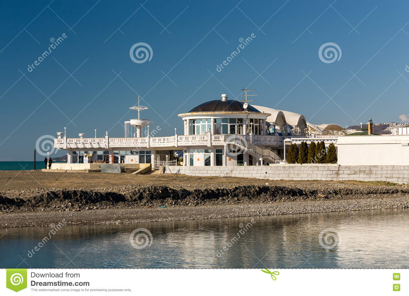 黑海海岸索契 俄国