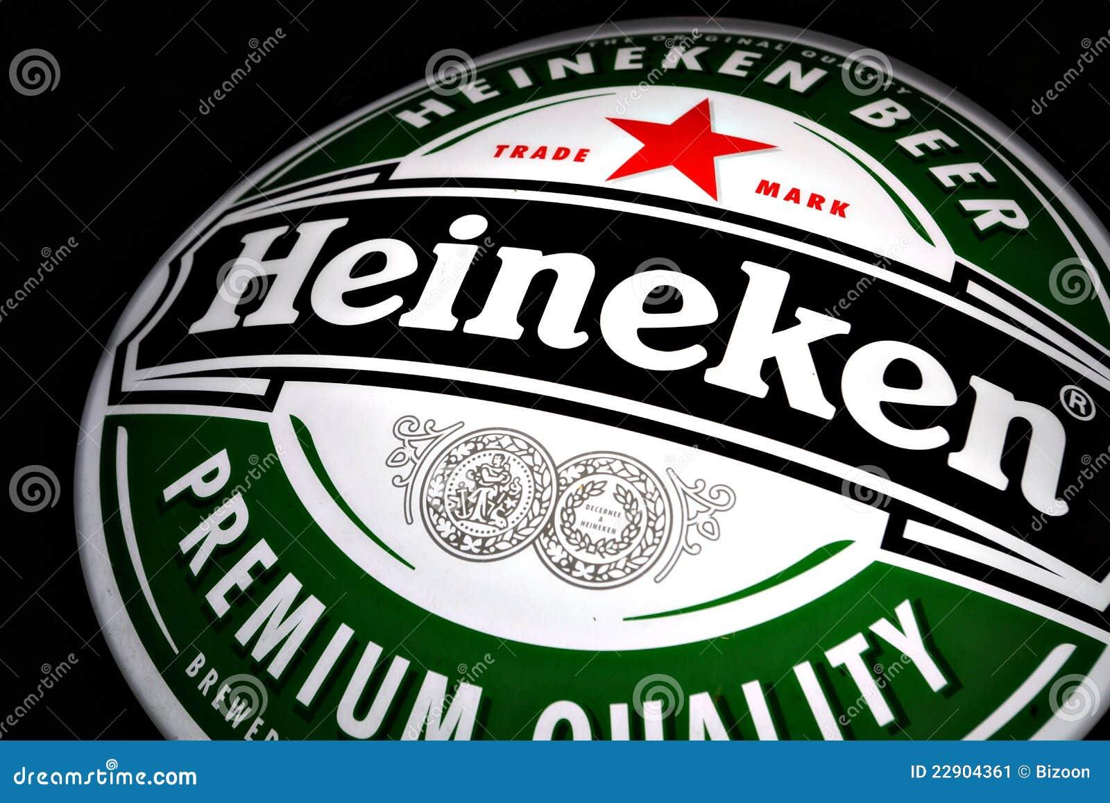 海涅肯啤酒广告