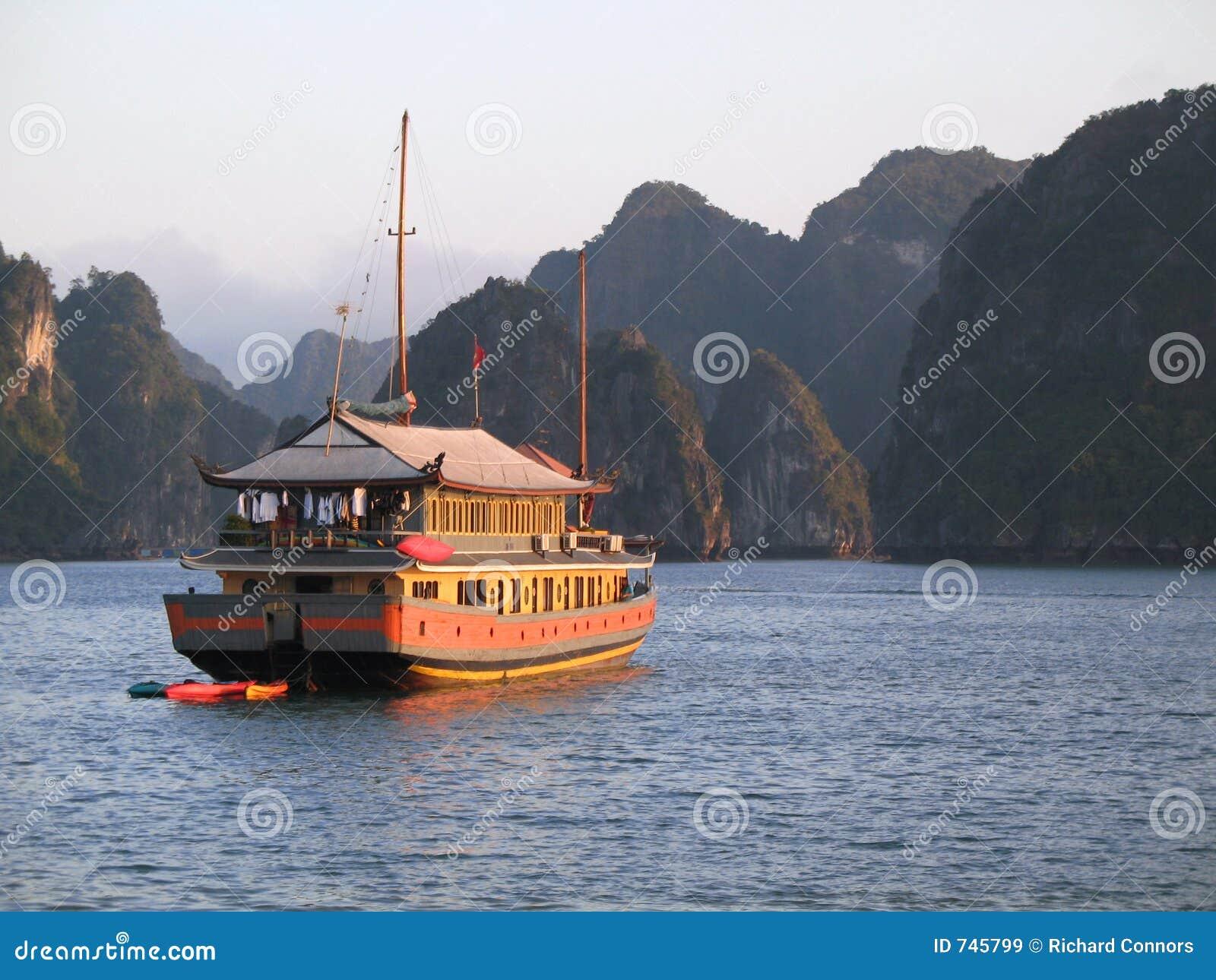 海湾巡航halong旧货越南