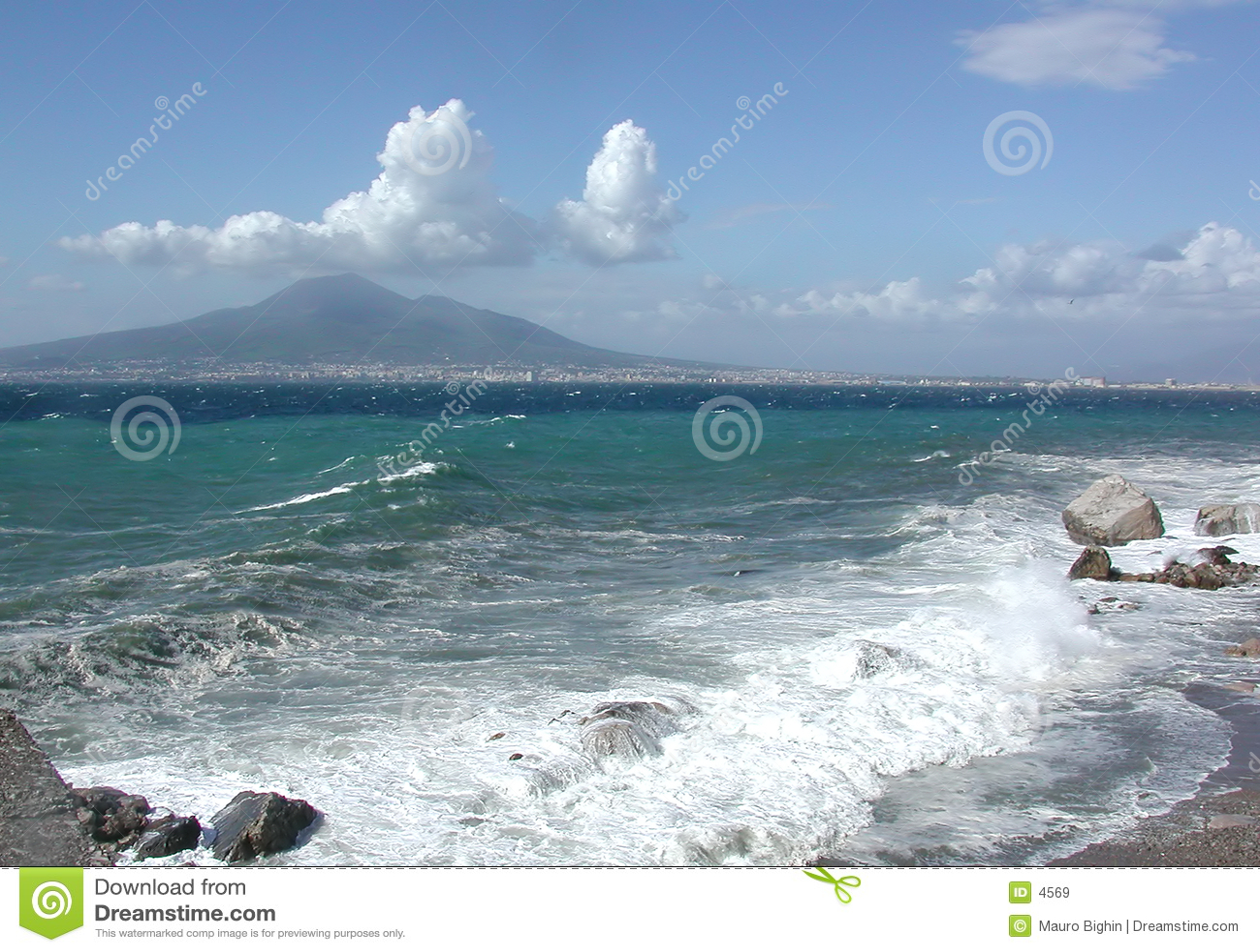 海湾意大利那不勒斯