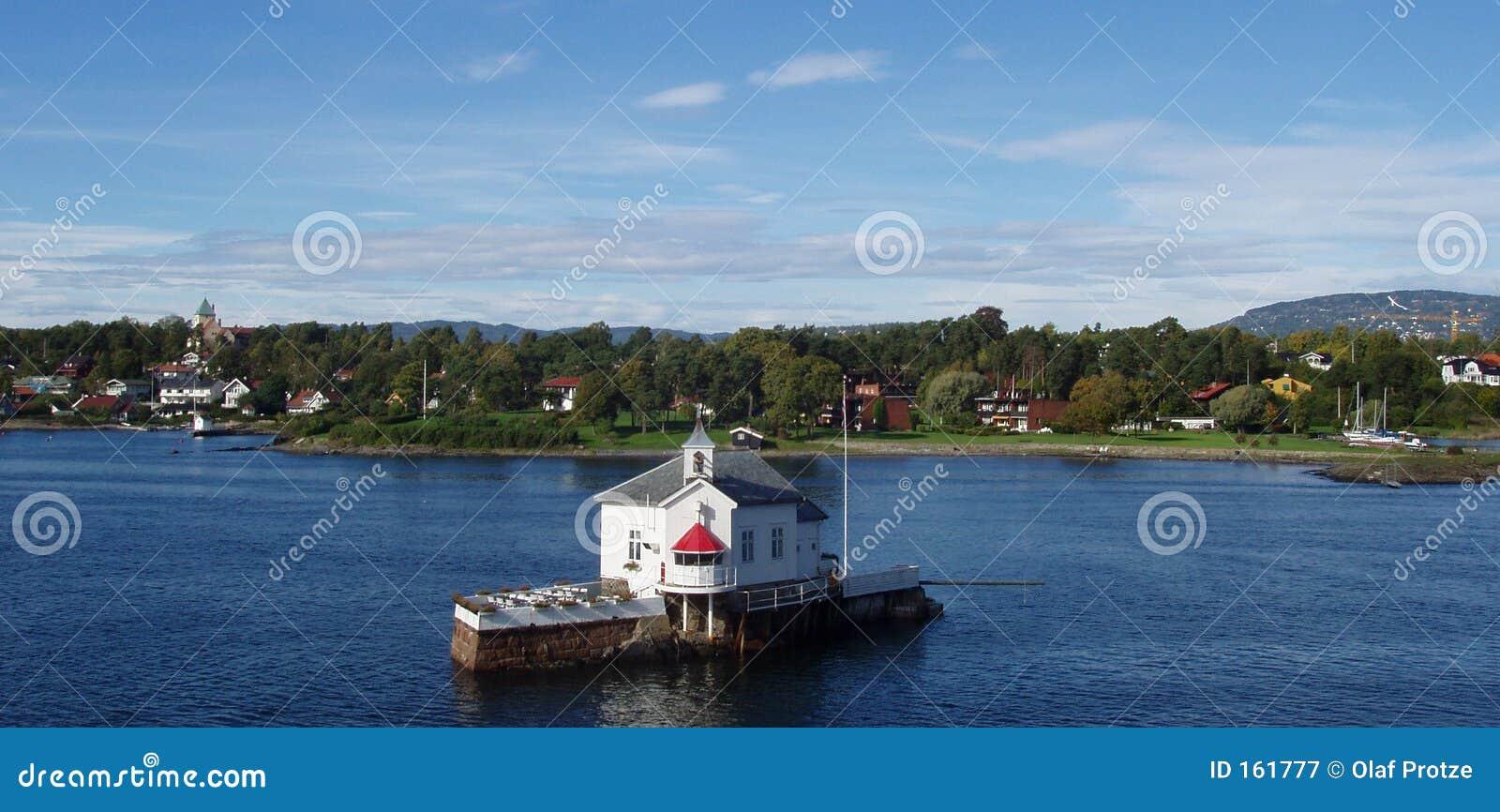 海湾横向挪威奥斯陆