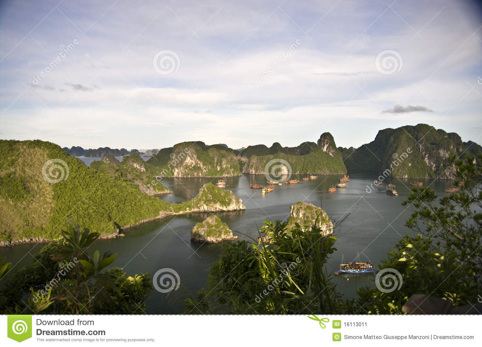 海湾halong越南