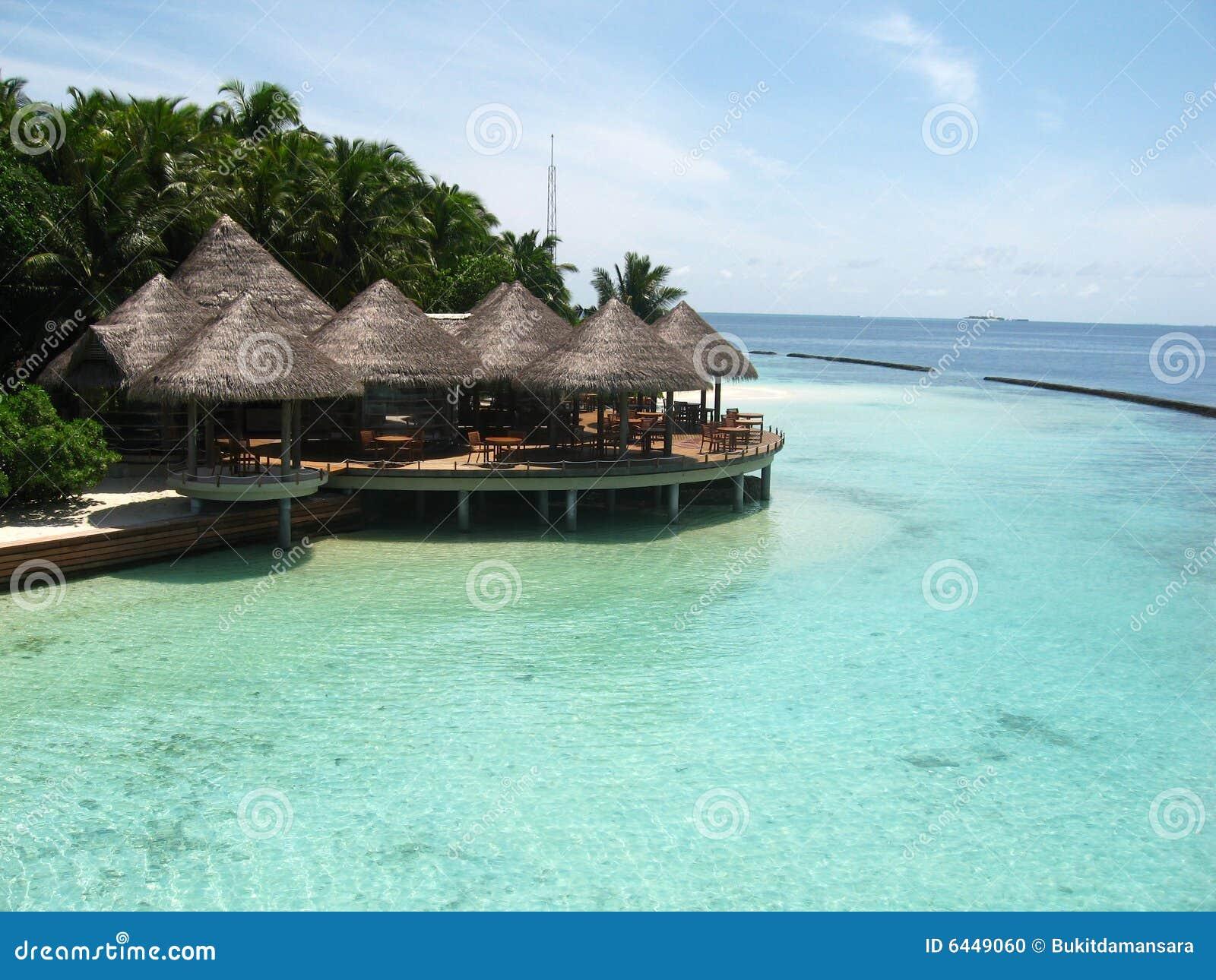 海滨别墅海岛水