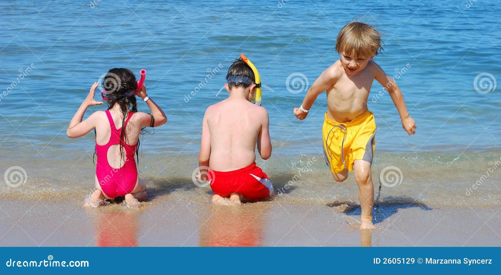 海滩儿童使用
