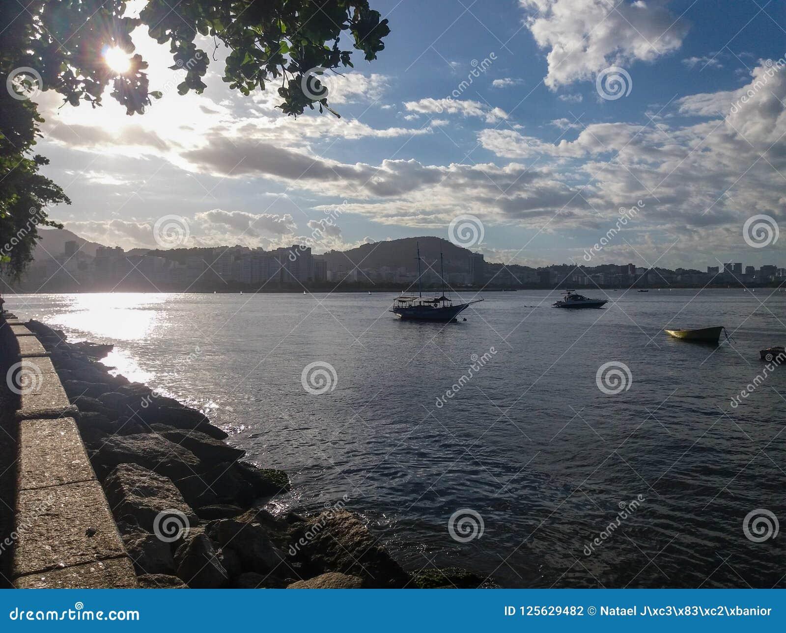 海滩在里约热内卢,巴西
