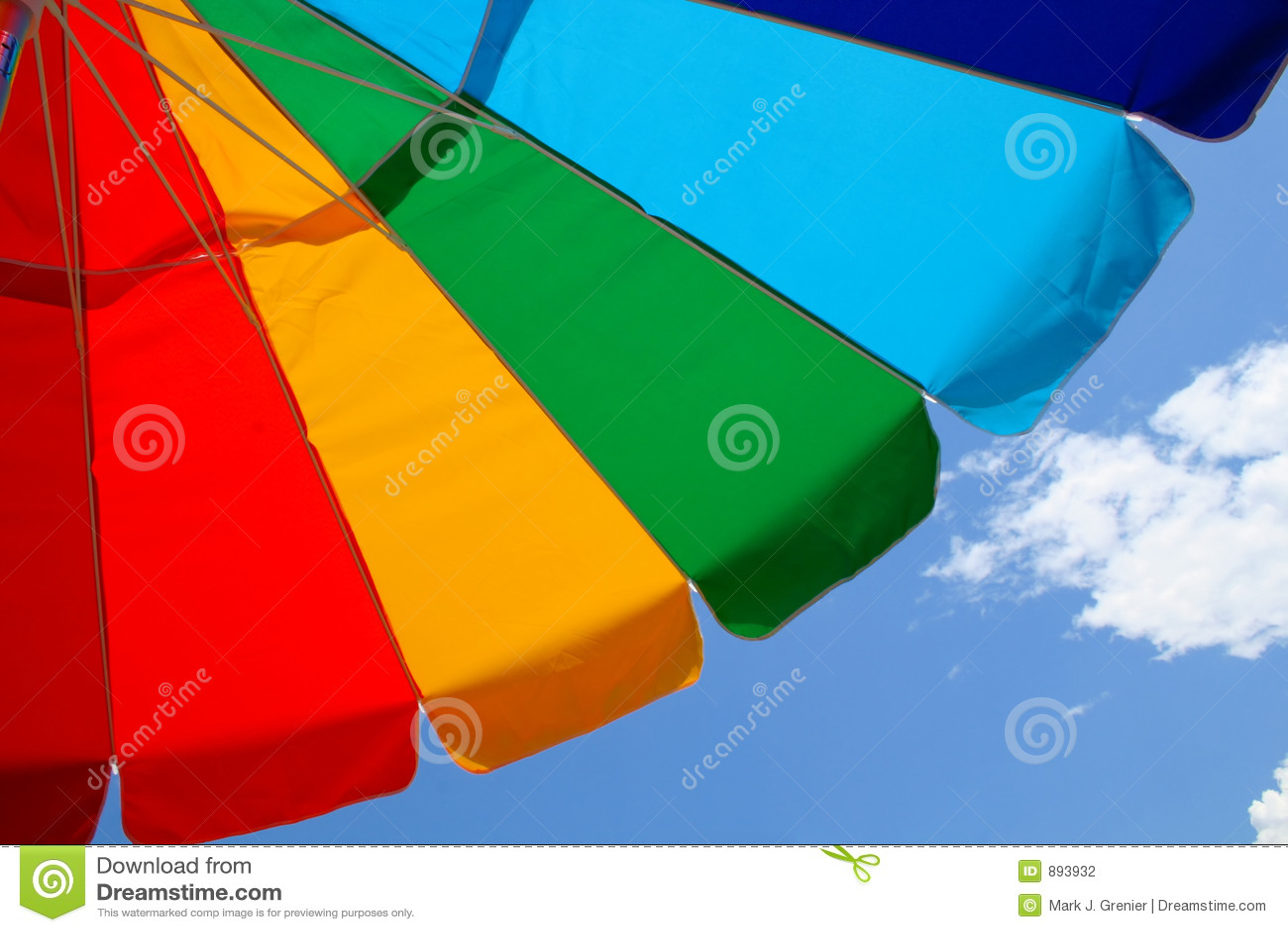 海滩天空伞