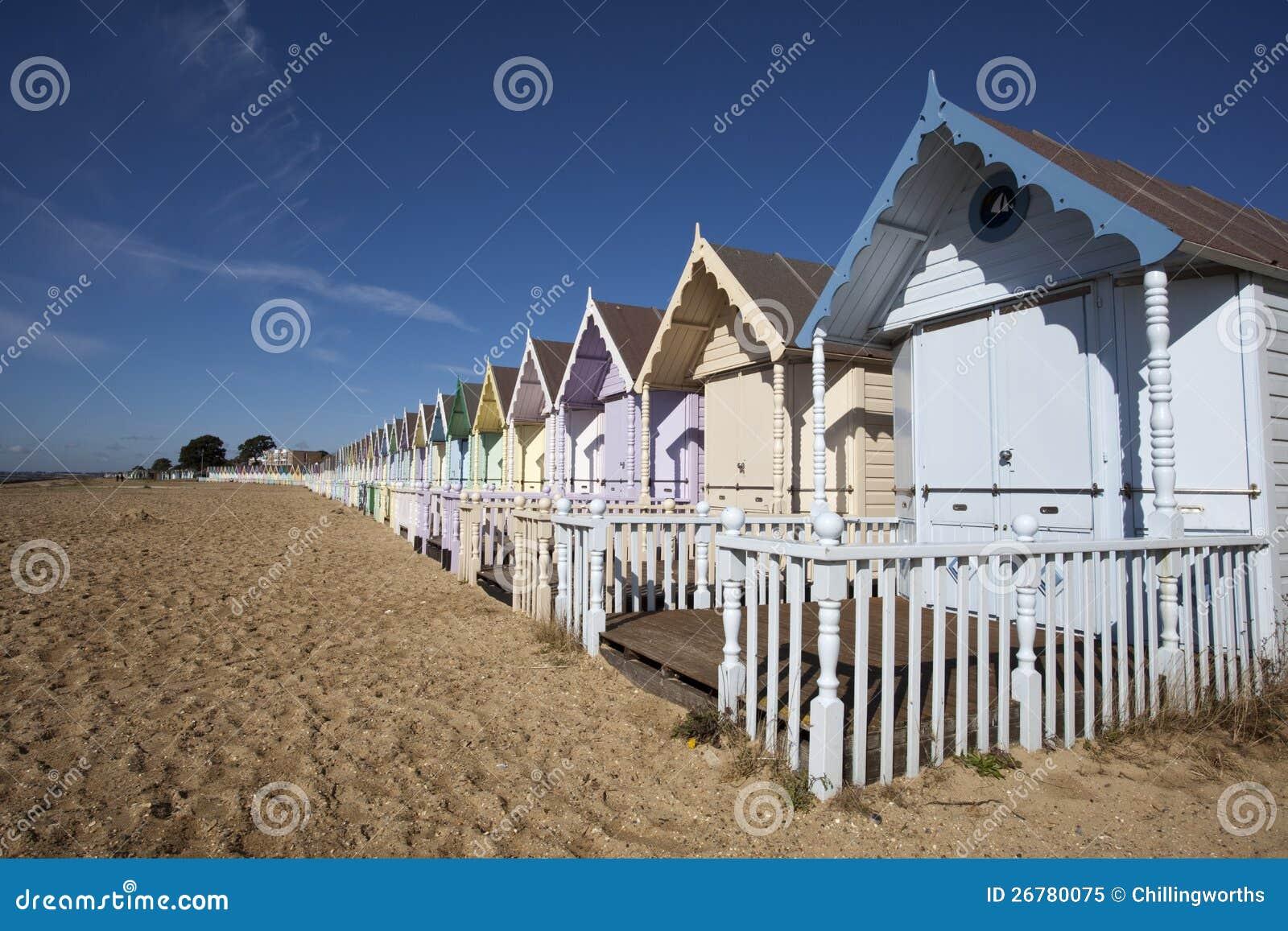 海滩小屋,西方Mersea, Essex,英国