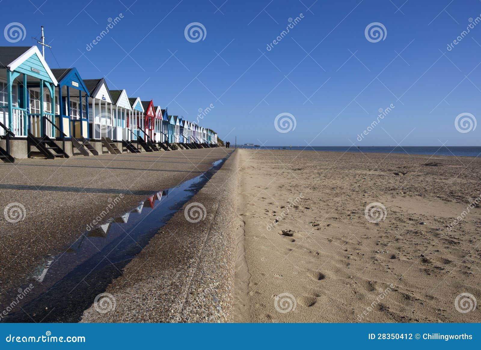 海滩小屋, Southwold,萨福克,英国