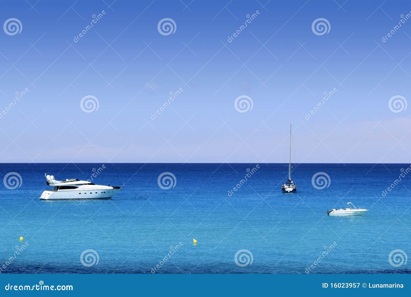 海滩最佳的cala formentera地中海saona